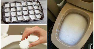 """Nu vei mai curata niciodata toaleta daca folosesti aceste """"bombe"""" facute in casa!"""