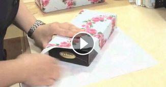 VIDEO genial! Cum sa impachetezi orice cadou in mai putin de 15 secunde!