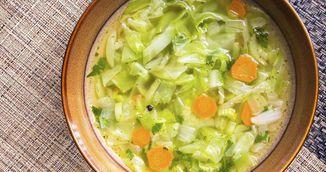 Cum slabesti cu varza. Aceasta este supa care topeste 5 kilograme intr-o saptamana