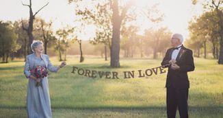 Acest cuplu a asteptat 70 de ani pentru a face sedinta foto de nunta! Motivul te va emotiona!
