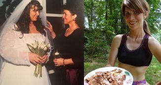 Femeia asta a slabit 60 de kilograme mancand doar trei lucruri!
