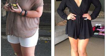 Femeia asta a ajuns la 120 de kilograme mancand doua cine pe seara! Uite cum a reusit sa slabesca 55 kilograme in mod natural!