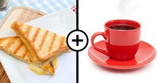 De ce sa nu mai mananci niciodata sandvis cu cafea la micul dejun