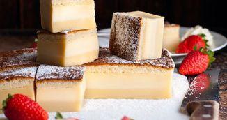 PASTE 2017. Prajitura in trei straturi din 6 ingrediente - perfecta pentru masa de Paste!