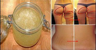 Cum se preprara scrubul din sare si zahar care te scapa de celulita