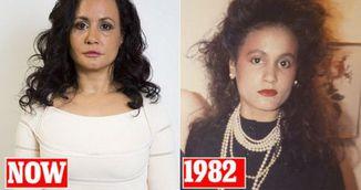 Asa arata femeia care n-a mai ras de 40 de ani ca sa nu faca riduri