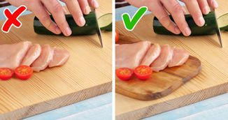 De ce nu trebuie sa tai carnea si legumele pe acelasi tocator. Sigur nu stiai asta