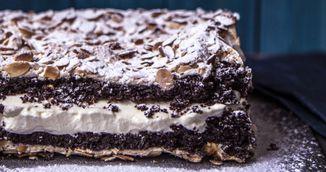 Cea mai delicioasa prajitura cu ciocolata si bezea. Se prepara simplu si rapid