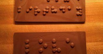 Mesajul impresionant inscriptionat pe aceasta ciocolata! Semnificatia lui te va face sa plangi!
