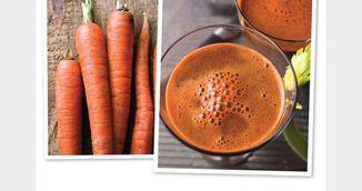 Smoothie cu morcovi pentru tensiune. Face miracole pentru inima ta