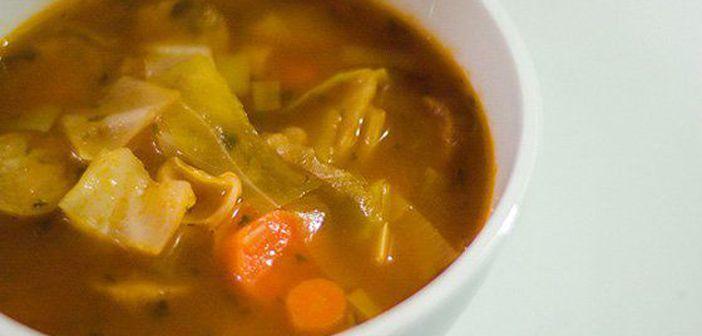 supa de legume te ajuta sa slabesti