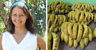 Femeia asta a mancat doar banane timp de 12 zile! Ce i s-a intamplat apoi!