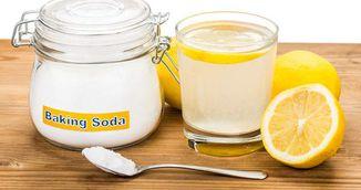 Bautura geniala cu lamaie si bicarbonat de sodiu care te ajuta sa slabesti!