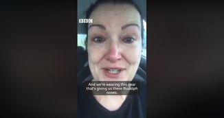 """Marturia tulburatoare a unei asistente din Marea Britanie: """"Suntem in genunchi din cauza COVID-19"""""""