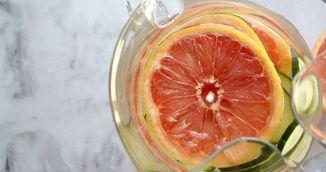 Apa cu grapefruit pentru accelerarea metabolismului. Slabesti vazand cu ochii