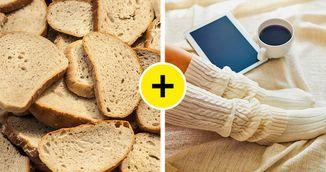 Cum scapi de calusurile de pe talpi cu paine, in doar cateva ore. Sigur nu stiai de trucul asta genial