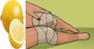Genial! Cum scapi de durerile de genunchi cu lamaie. Incearca trucul asta acasa