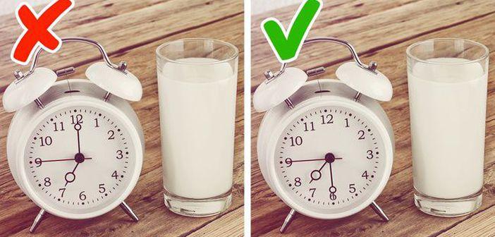 Cand trebuie sa bei lapte dimineata. Nimeni nu ti-a spus asa ceva