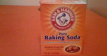 Nu mai folosi niciodata bicarbonatul de sodiu la asa ceva! Face mai mult rau decat bine