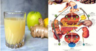Bautura geniala care iti detoxifiaza organismul intr-o singura zi!