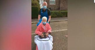A invins coronavirusul la 89 de ani si a fost lasata sa plece acasa. Povestea acestei bunicute te va impresiona