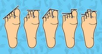 Ce spune lungimea degetelor de la picioare despre personalitatea ta!