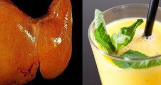 Ai ficatul gras? Elixirul asta din doua ingrediente iti curata corpul de toxine si grasimi