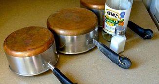 Cum sa faci vasele de cupru sa straluceasca din nou