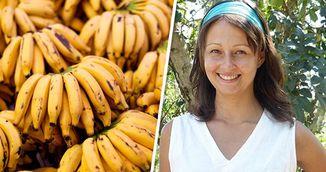 Femeia asta a mancat DOAR banane timp de 12 zile! Uite ce i s-a intamplat!