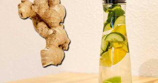 Cum sa-ti faci limonada cu ghimbir pentru slabire. Reteta asta face minuni