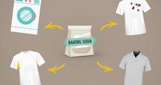 Bicarbonatul de sodiu iti salveaza hainele! Uite cum sa-l folosesti
