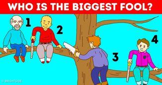 Test de personalitate: Care este cel mai mare fraier? Ce spune alegerea ta despre tine