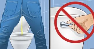 De ce sa nu mai tragi apa niciodata dupa ce urinezi!