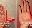 Poti sa faci un unghi drept cu aceste doua degete? Vezi ce semnifica asta