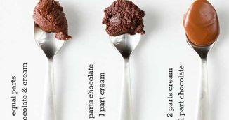 Cum faci trei tipuri de crema de ciocolata folosind doar doua ingrediente