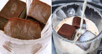 Reteta racoroasa de vara: Cuburi de cafea pentru lapte