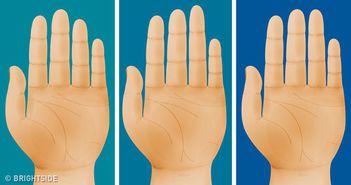 Ce spune lungimea degetelor tale despre tipul de personalitate pe care il ai