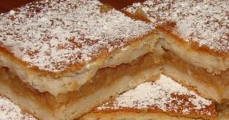 PASTE 2017: Reteta zilei: Prajitura frageda cu mere de Paste