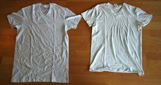 Ti s-a micsorat un tricou dupa spalare? Uite ce trebuie sa faci ca sa-l aduci la marimea initiala!
