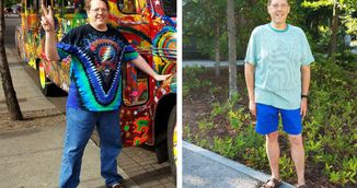 Barbatul asta a slabit 25 de kilograme dupa ce a facut o singura schimbare in viata sa
