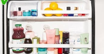 Foarte tare! De ce trebuie sa-ti tii toate produsele de beauty in frigider