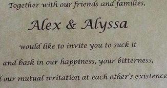 """Invitatia"" unei mirese a devenit virala pe Internet. Cum si-a anuntat parintii ca nu vrea sa-i vada la nunta ei"