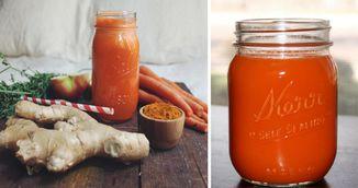Acesta este sucul genial din ghimbir, turmeric si morcovi care te scapa de pastilele de dureri!