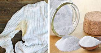 Cum indepartezi petele de transpiratie de pe hainele colorate. Trucul care face minuni