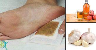 Plasturii pentru picioare care iti scot toxinele din corp. Cum se prepara