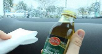 VIDEO! Cand vei vedea de ce picura ulei de masline in masina, vei incerca si tu imediat! Sigur nu stiai trucul asta!