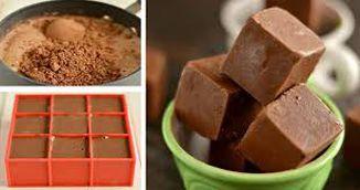 Reteta geniala: cuburi de ciocolata de casa