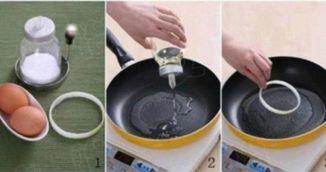Cum sa prajesti un ou perfect rotund. Trebuie sa stii acest truc