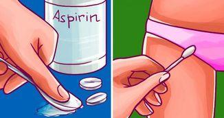 Fiecare femeie trebuie sa stie aceste trucuri geniale cu aspirina. Le vei incerca rapid