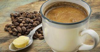 Reteta minune! A slabit 18 kg adaugand ulei de cocos si unt in cafeaua de dimineata